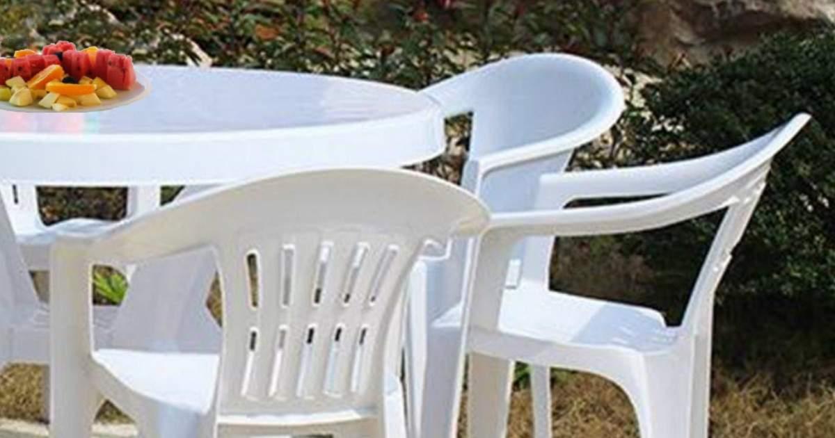 nettoyer mobilier de jardin ménage Dinard
